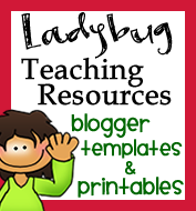 Ladybug Teacher Files!!! An obsession!!! And she is hosting a GIVEAWAY!!!