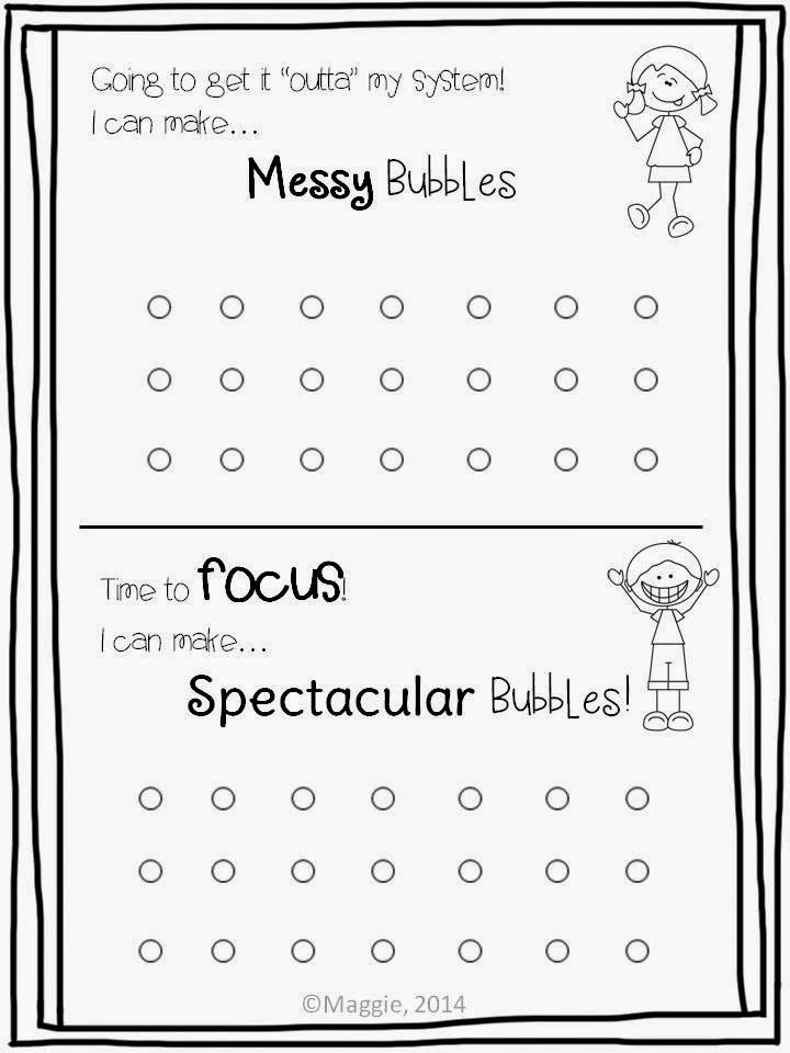It\'s Bubblin Practice Time! Get your littles ready FREEBIE ...