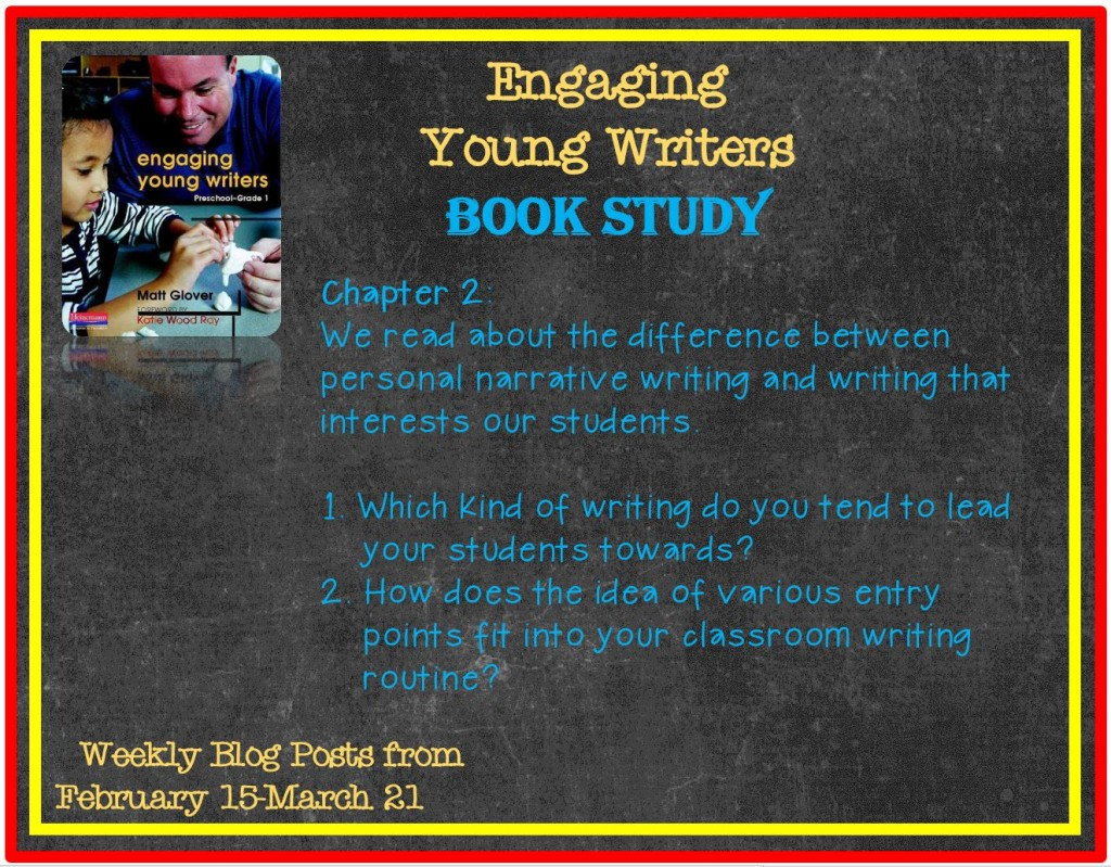 Engaging Young Writers book study Ch 1 & 2