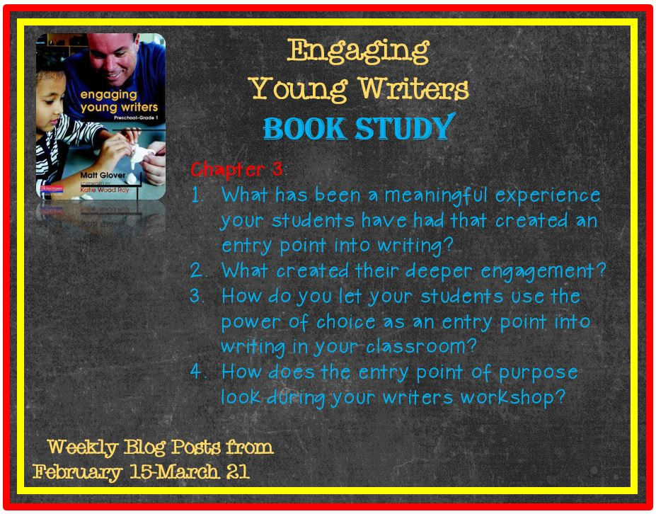 Engaging Young Writers Book Study Chapter 3