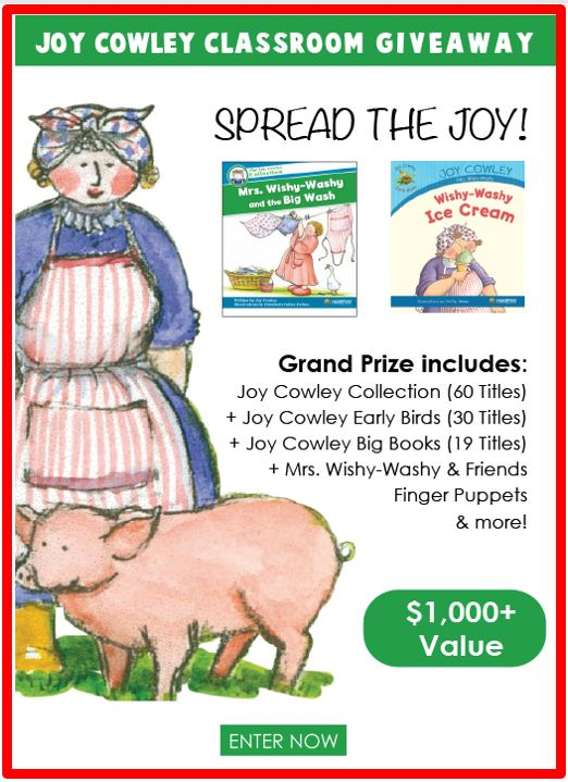 Revisiting Joy Cowley's Marvelous Characters + Contest