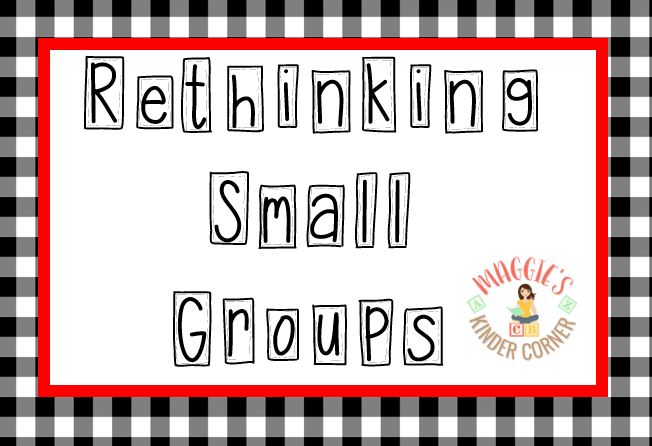 School is Out! Rethinking Small Groups and Literacy Centers