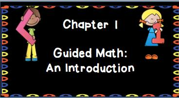 Guided Math in Action Chapters 1 and 2!