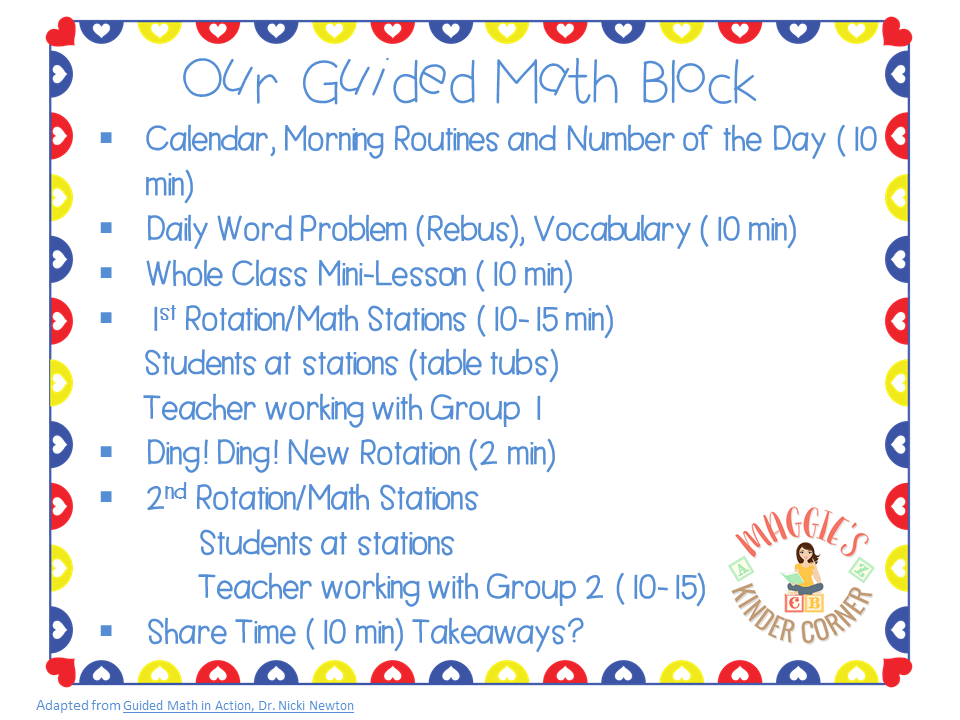 guided math routine