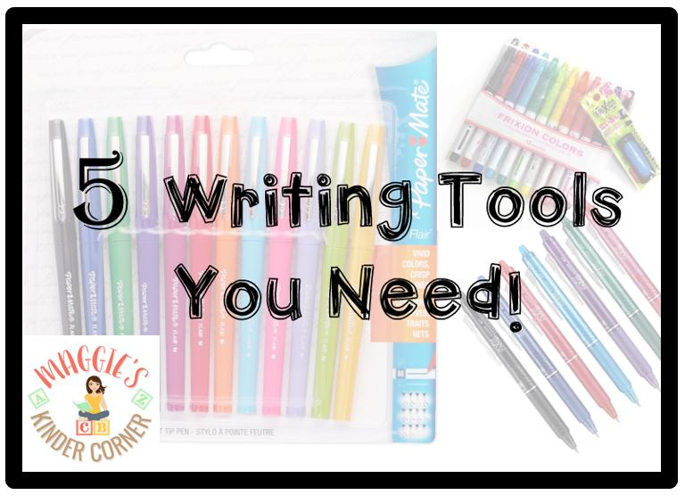 5 Writing Tools You Need!