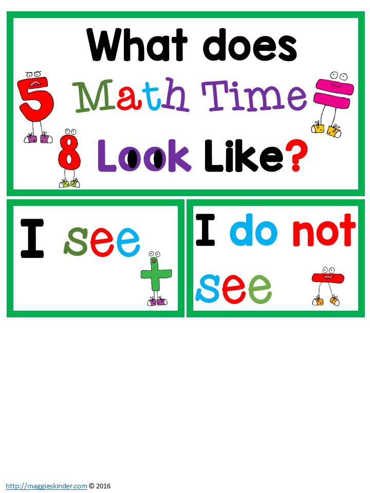 Guided Math Book Study Chapters 3 and 4 and FREEBIES