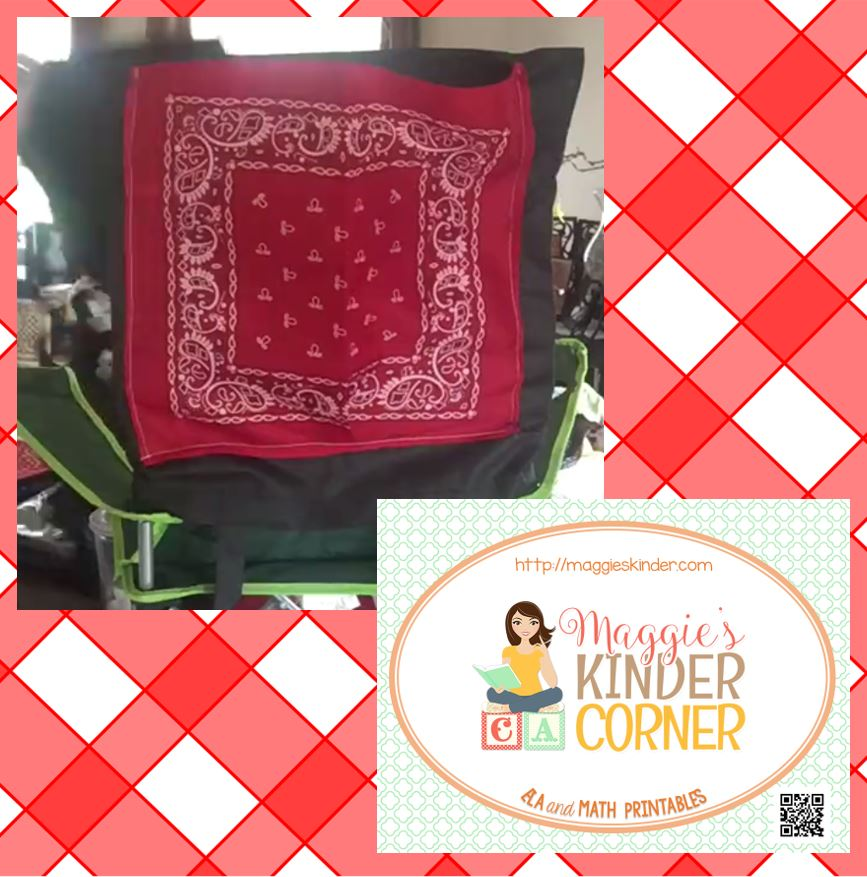 Easy Totes And Bandanas Chair Pockets What Maggie 39 S