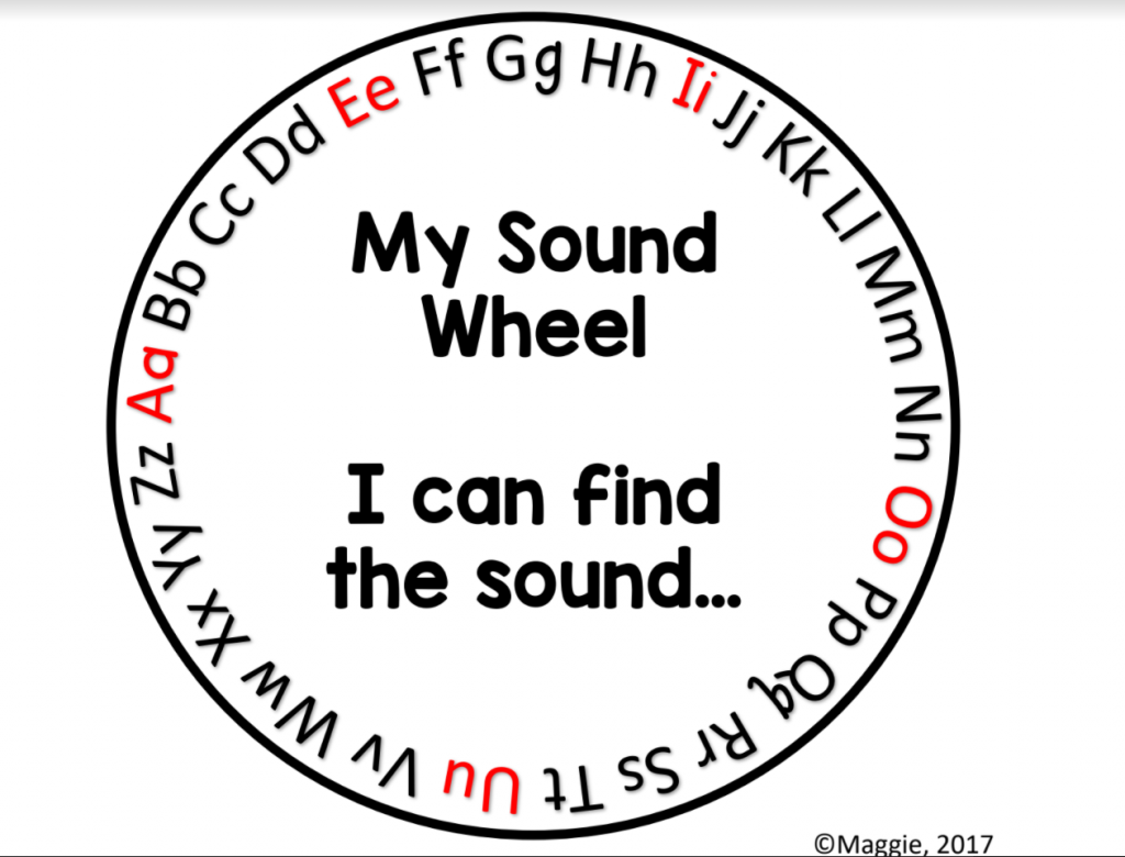 "Try a ""Sound Wheel"" for On the Spot Comprehension Checks"