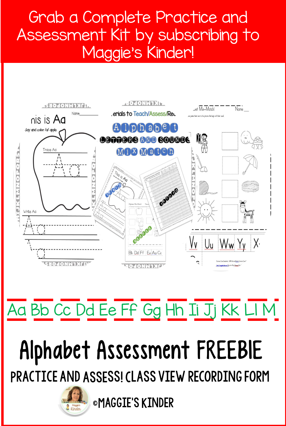 Alphabet Assessment and Practice Kit